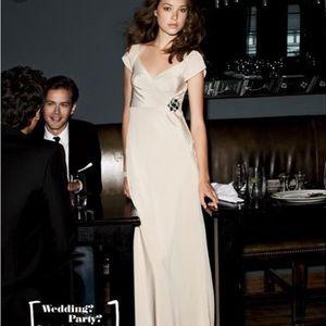 Jcrew Cecilia Dress Champagne